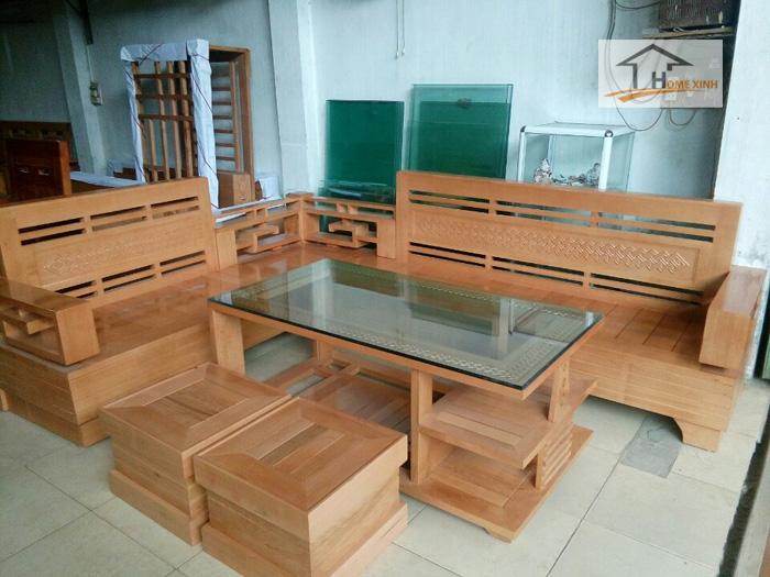 Bàn ghế gỗ mã 010H