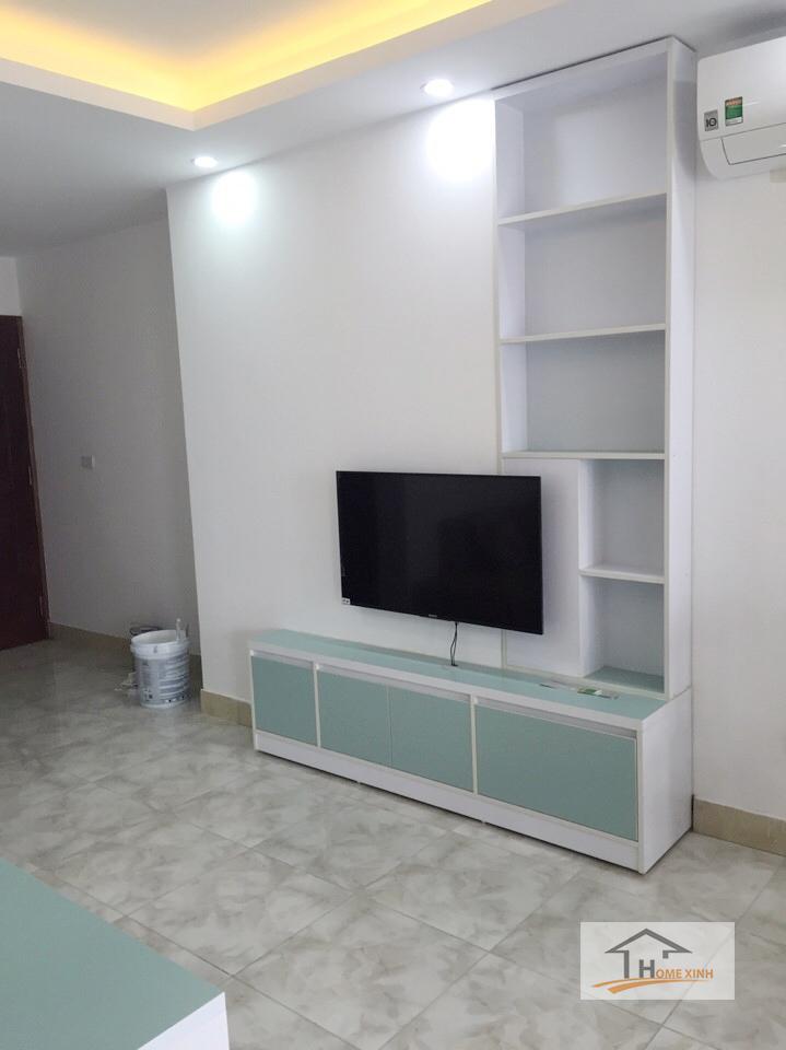 Hình 01: Thiết kế nội thất phòng khách chung cư tại Hà Nội