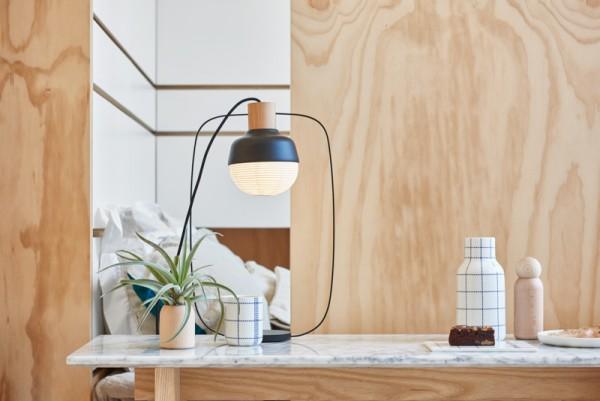 Thiết kế nội thất giá rẻ với nhà ở 35m2 với đồ gỗ tự nhiên 03