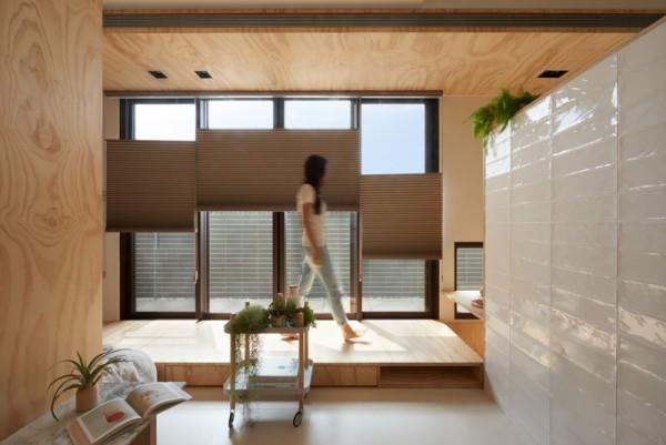 Thiết kế nội thất giá rẻ với nhà ở 35m2 với đồ gỗ tự nhiên 07
