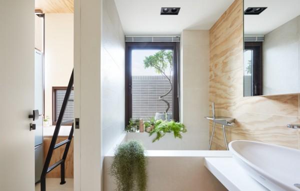 Thiết kế nội thất giá rẻ với nhà ở 35m2 với đồ gỗ tự nhiên 10