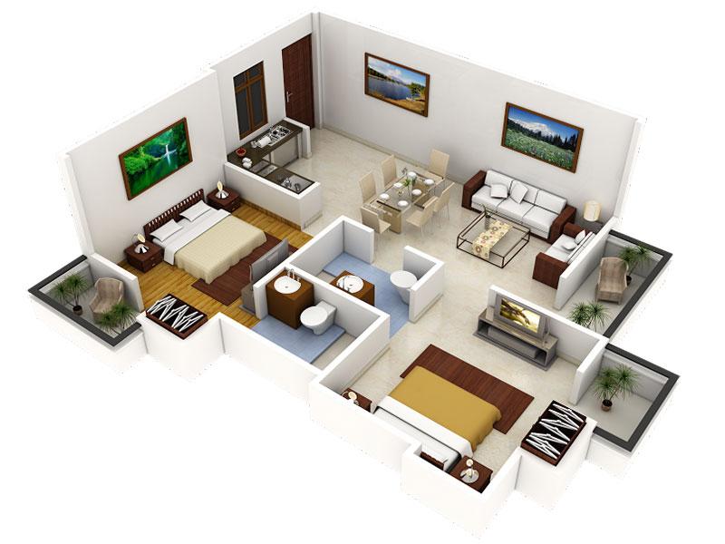 Làm sao để thiết kế nhà ở chung cư hoàn hảo