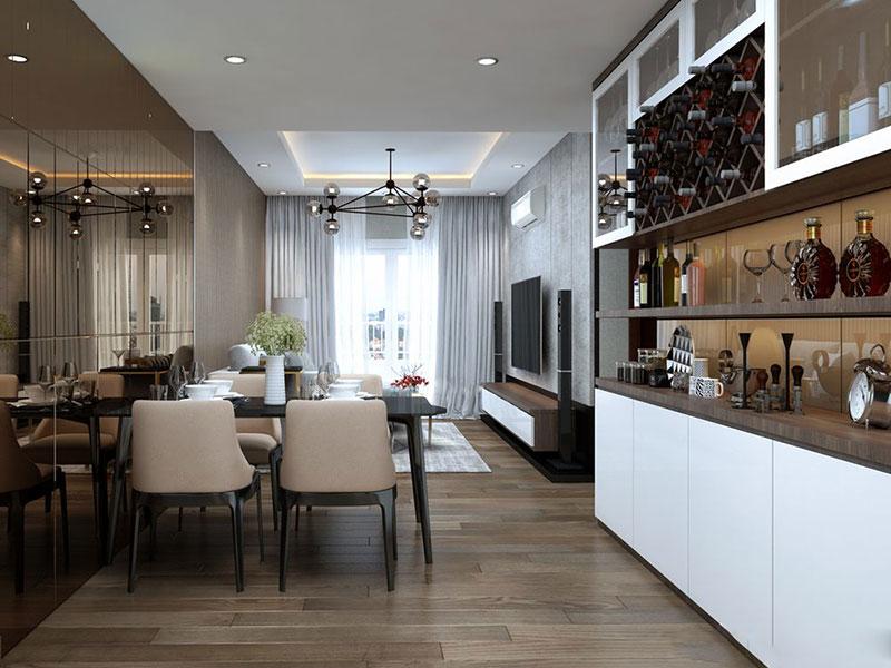 Thiết kế nội thất căn hộ chung cư Lexington - ảnh 5