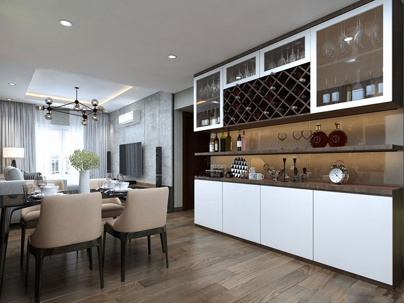 Thiết kế nội thất căn hộ chung cư Lexington - ảnh 6