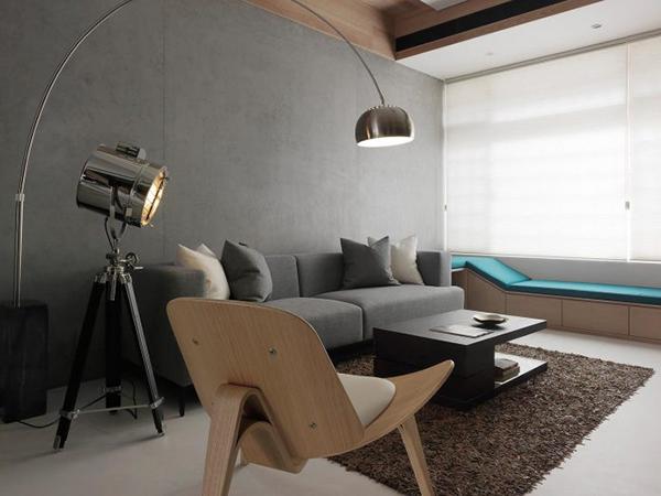 Thiết kế nội thất nhà phố sang trọng, hiện đại tại Đài Loan- ảnh 1