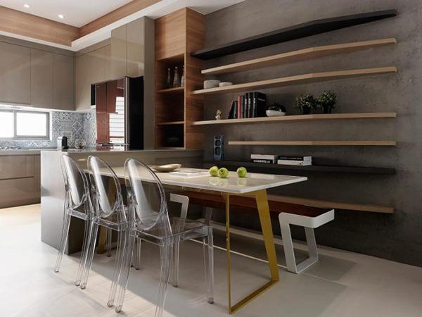 Thiết kế nội thất nhà phố sang trọng, hiện đại tại Đài Loan- ảnh 7