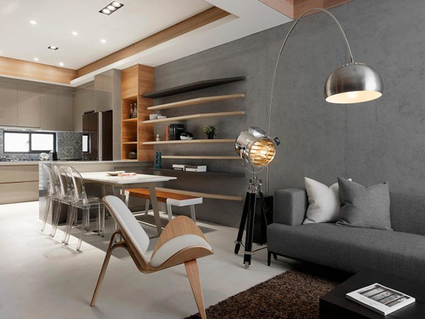 Thiết kế nội thất nhà phố sang trọng, hiện đại tại Đài Loan- ảnh 9