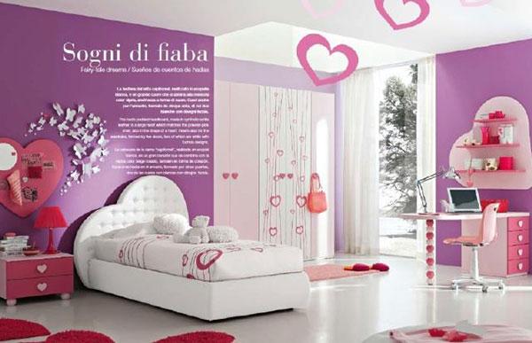 Giấy dán tường in chữ cho phòng ngủ thêm độc đáo hơn