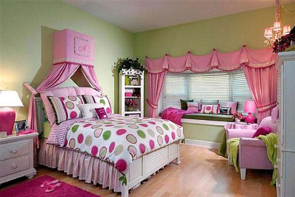 Những món nội thất siêu dễ thương cho phòng ngủ của cô gái