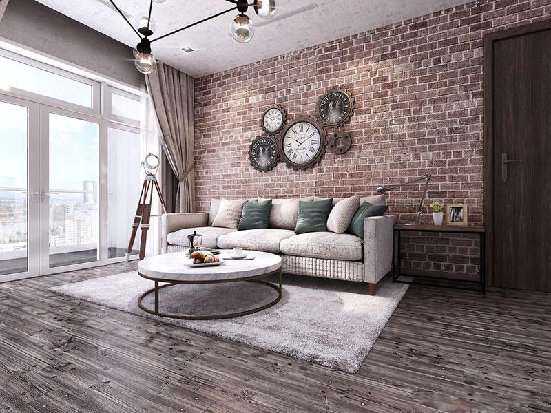 Nét độc đáo trong thiết kế nội thất chung cư 120m2 tại Vinhomes Central Park - ảnh 1