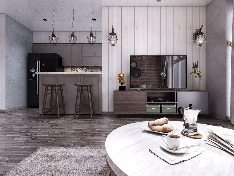 Nét độc đáo trong thiết kế nội thất chung cư 120m2 tại Vinhomes Central Park - ảnh 2