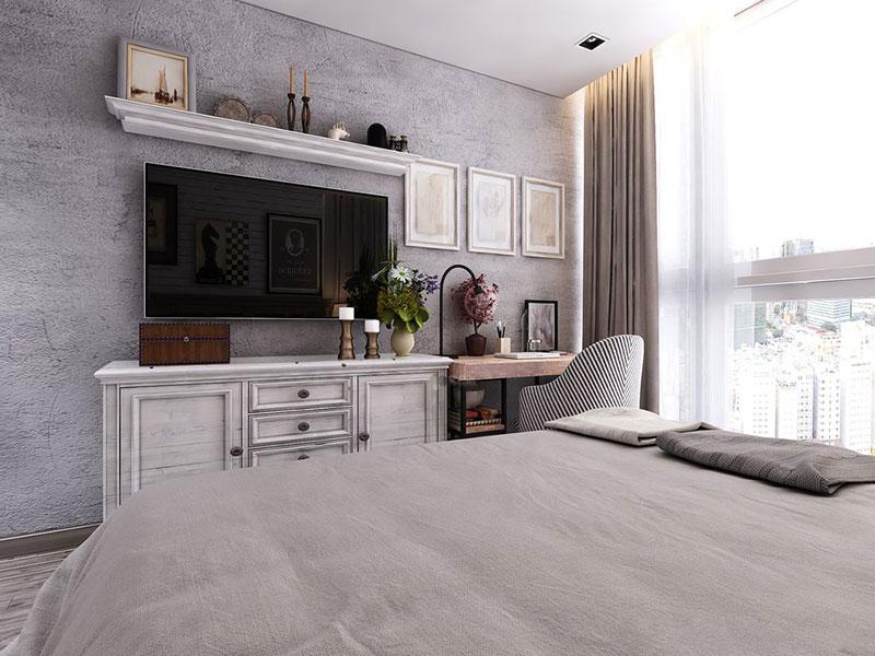 Nét độc đáo trong thiết kế nội thất chung cư 120m2 tại Vinhomes Central Park - ảnh 7