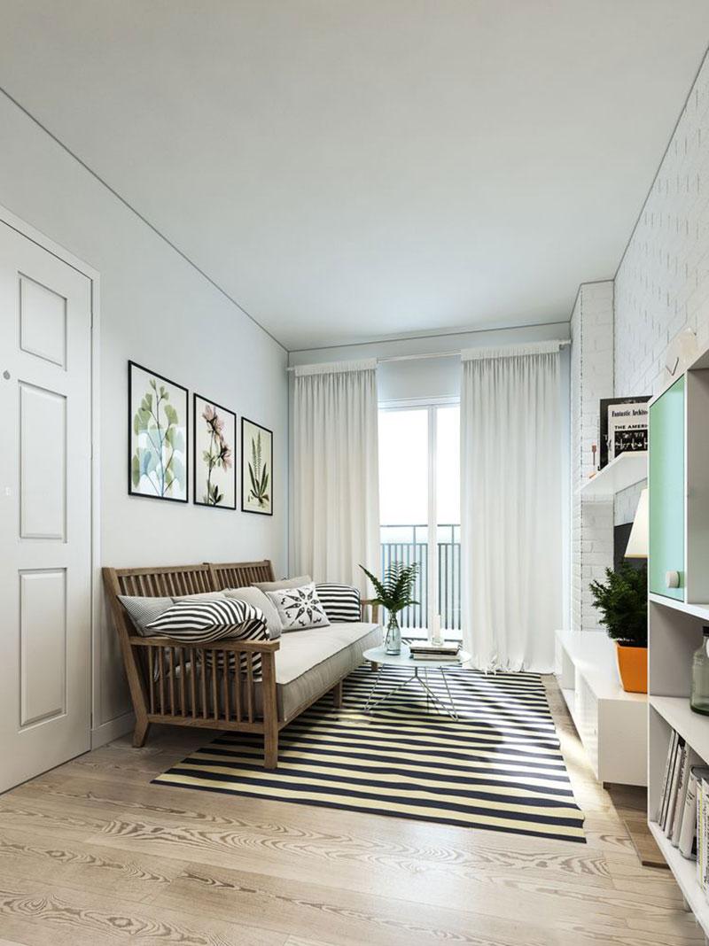 Phong cách Vintage trong thiết kế nội thất chung cư tại Hà Nội - ảnh 1