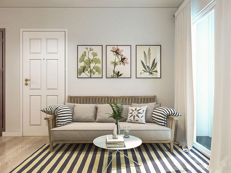 Phong cách Vintage trong thiết kế nội thất chung cư tại Hà Nội - ảnh 2