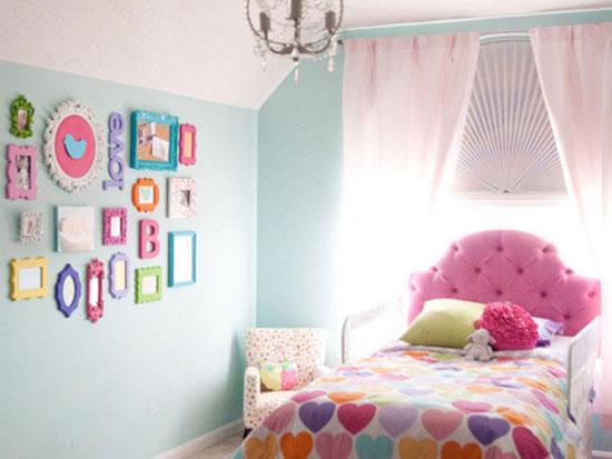Trang trí phòng cho bé gái