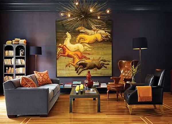 Xu hướng trừu tượng trong họa tiết, hoa văn trang trí nội thất
