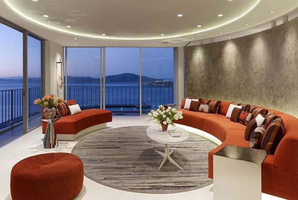 Xu hướng sử dụng kiểu dáng đường cong ưa nhìn trong thiết kế nội thất năm 2018