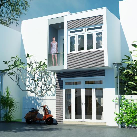 Mẫu thiết kế nội thất nhà phố diện tích nhỏ