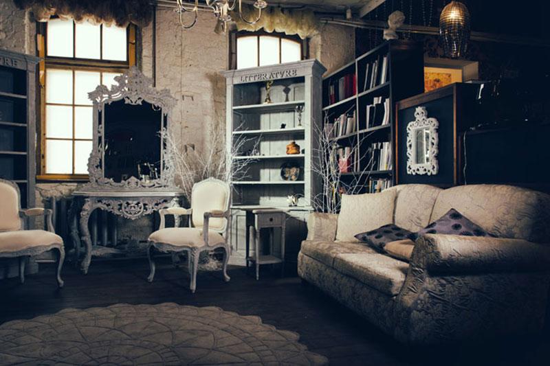 nội thất phong cách Vintage
