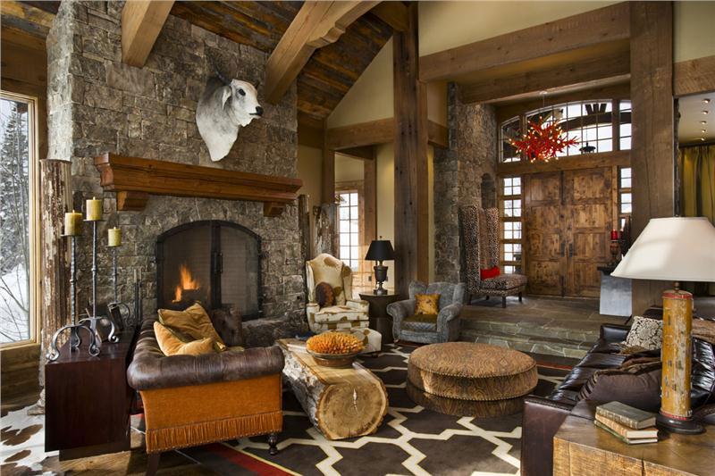 phong cách country trong thiết kế nội thất