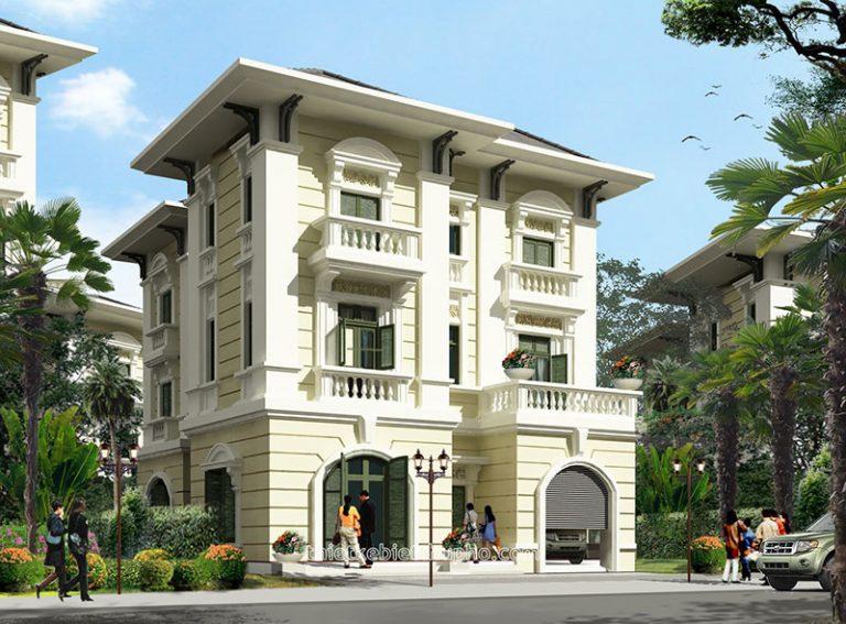 Thiết kế biệt thự theo phong cách cổ điển