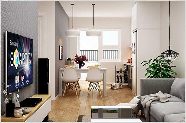 Trang trí nội thất phù hợp với không gian căn hộ